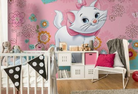 Marie Aristocats in Paris wall mural